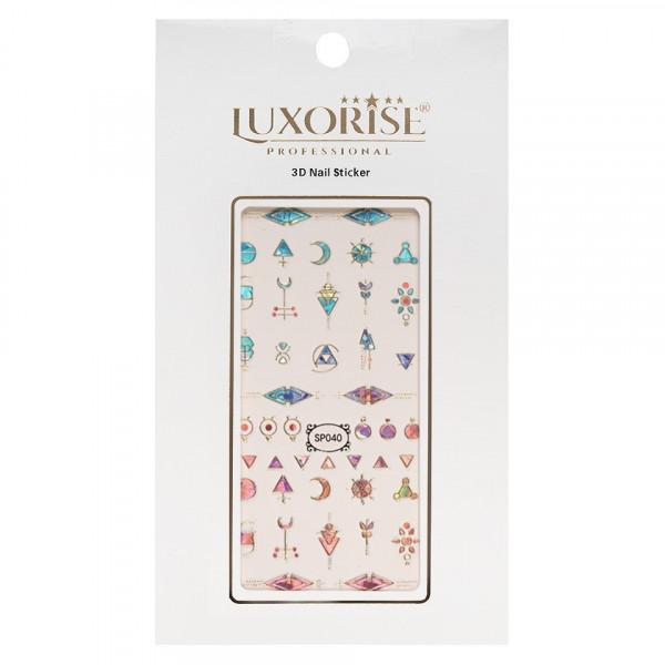 Poze Folie Sticker 3D unghii LUXORISE- SP040