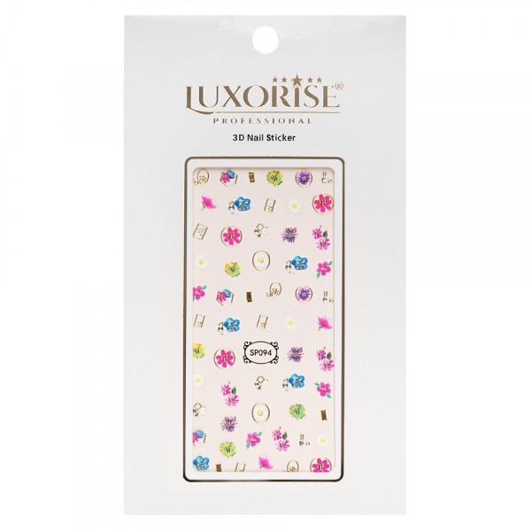 Poze Folie Sticker 3D unghii LUXORISE- SP094