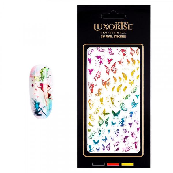 Poze Folie Sticker Unghii Butterfly DP2014 - LUXORISE