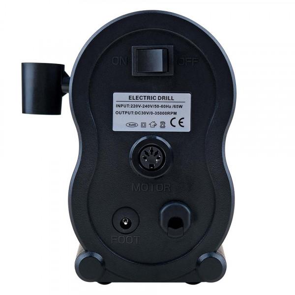 Poze Freza Unghii Profesionala XPERT Ultra - LUXORISE Germania, 35.000 RPM, Black