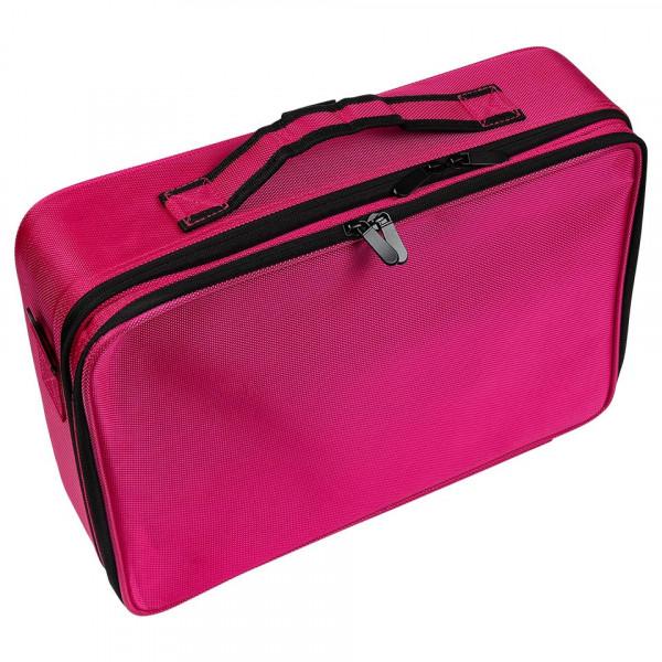 Poze Geanta Manichiura Pink Travel Nail-Up Case