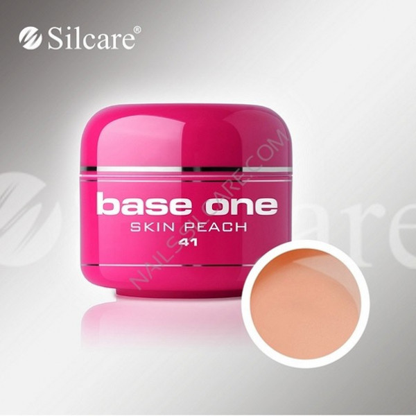 Poze Gel UV Base One Skin Peach - 5 gr