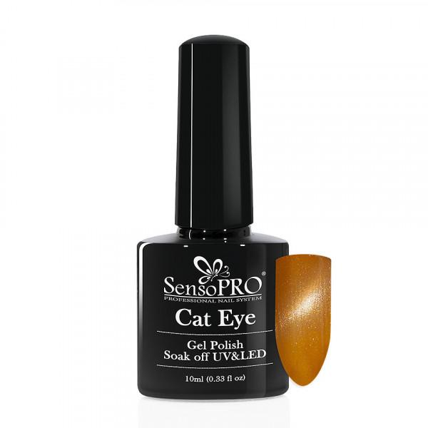 Poze Oja Semipermanenta Cat Eye SensoPRO 10ml - #019 Reno Sand