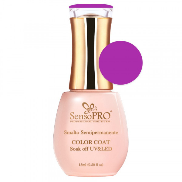 Poze Oja Semipermanenta SensoPRO 15ml culoare Ciclam- 050-1 Light Berry