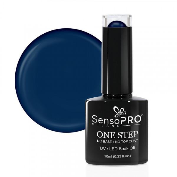 Poze Oja Semipermanenta SensoPRO Milano One Step 10ml, Dark Blue #034