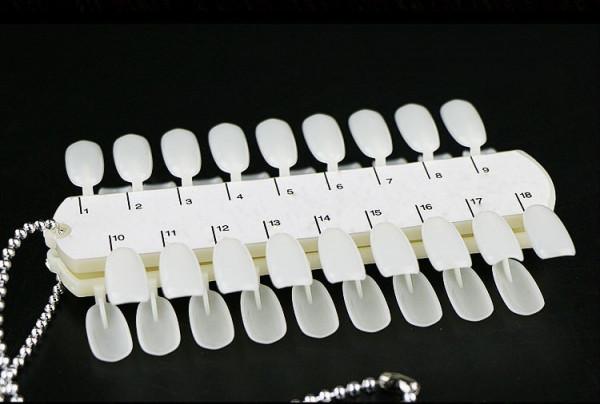 Poze Paletar Unghii cu Lant 36 de pozitii - paletar culori pentru unghii false
