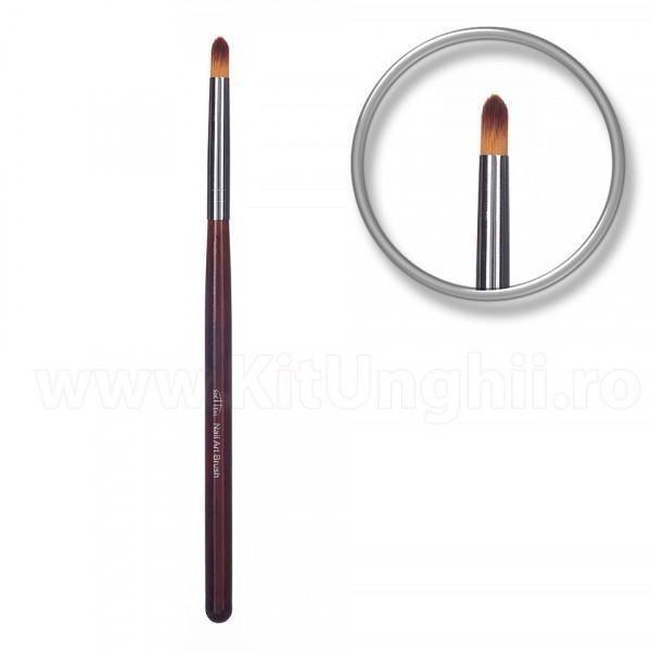 Poze Pensula unghii aplicare glitter si pigmenti Glossing Brush