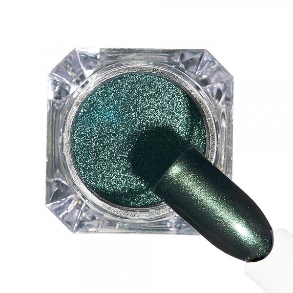 Poze Pigment unghii Chrome #155 cu aplicator - LUXORISE