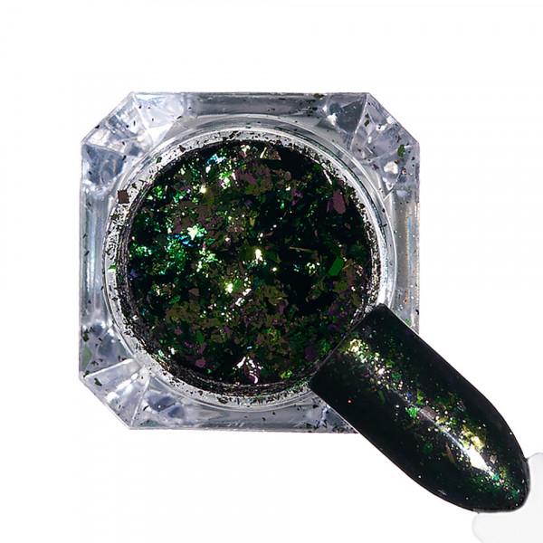 Poze Pigment unghii Ice Effect #91 cu aplicator - LUXORISE
