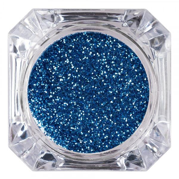 Poze Sclipici Glitter Unghii Pulbere LUXORISE, Blue Day #42