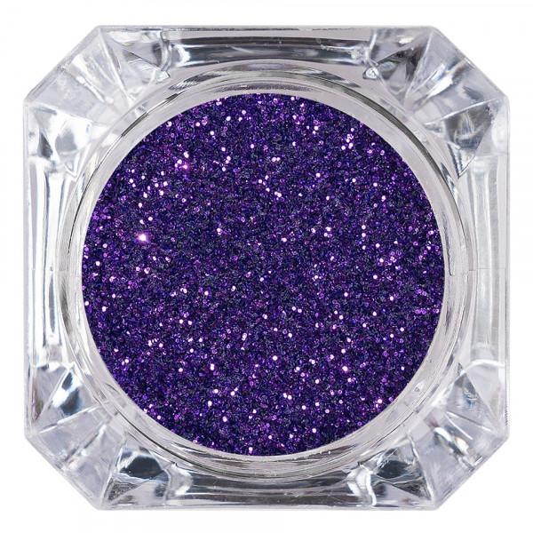Poze Sclipici Glitter Unghii Pulbere LUXORISE, Ultra Violet #23