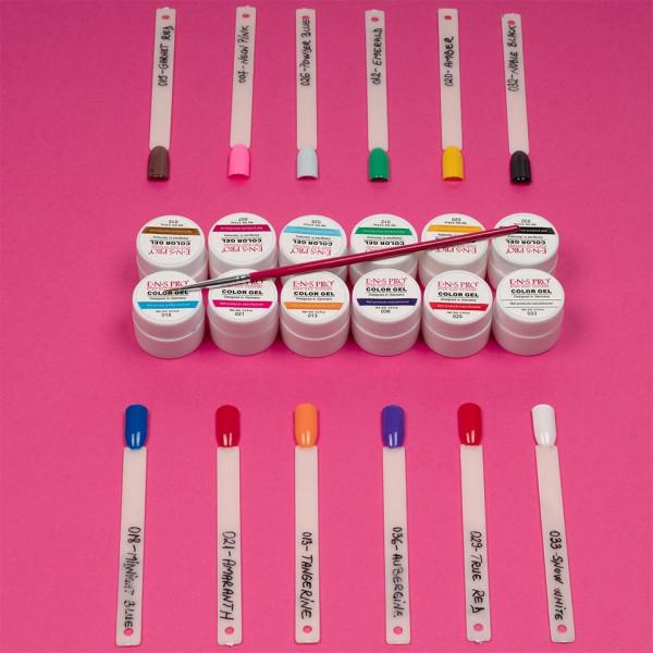Poze Set 12 geluri UV Color ENS PRO Magic Nails + CADOU
