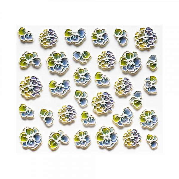 Poze Sticker 3D Unghii LUXORISE Artistry LX017