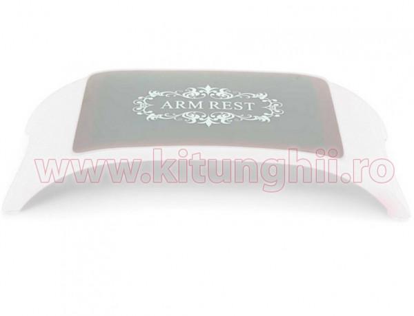 Poze Suport Mana Manichiura Ergonomic Premium White