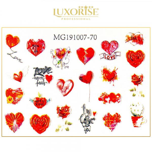 Poze Tatuaj 3D Unghii LUXORISE 1007-70