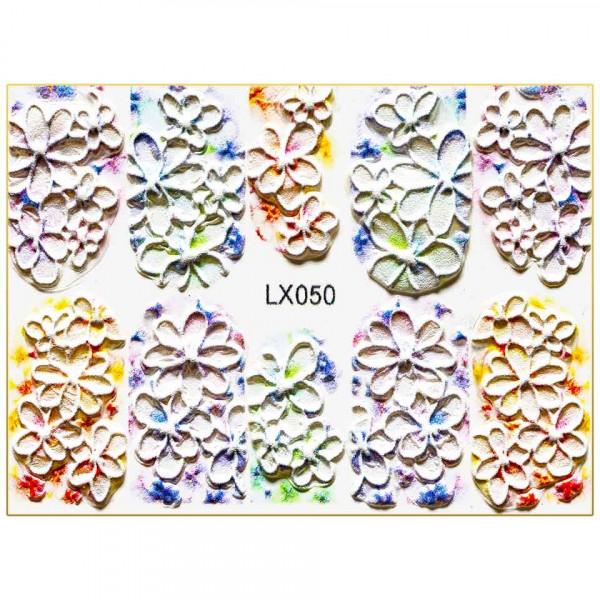 Poze Tatuaj 3D Unghii LUXORISE Artistry LX050