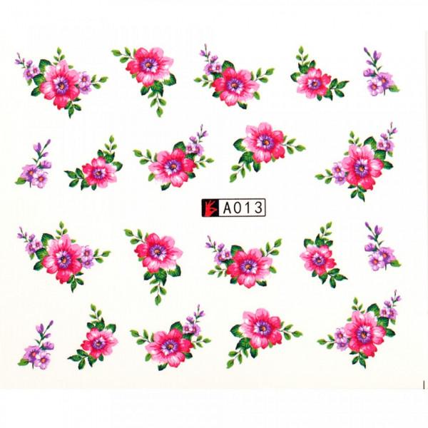 Poze Tatuaj unghii A013 flori