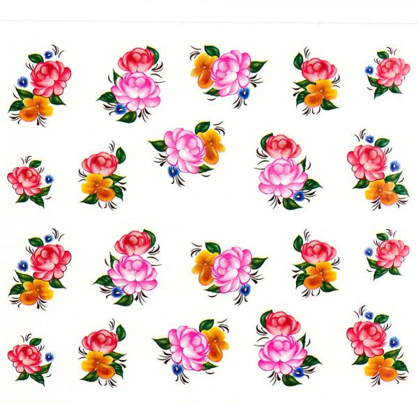 Poze Tatuaj unghii A030 flori