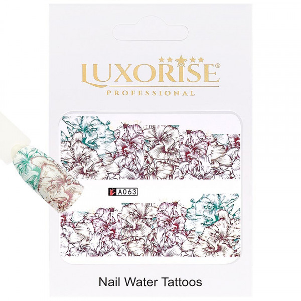 Poze Tatuaj unghii LUXORISE, Nature A063