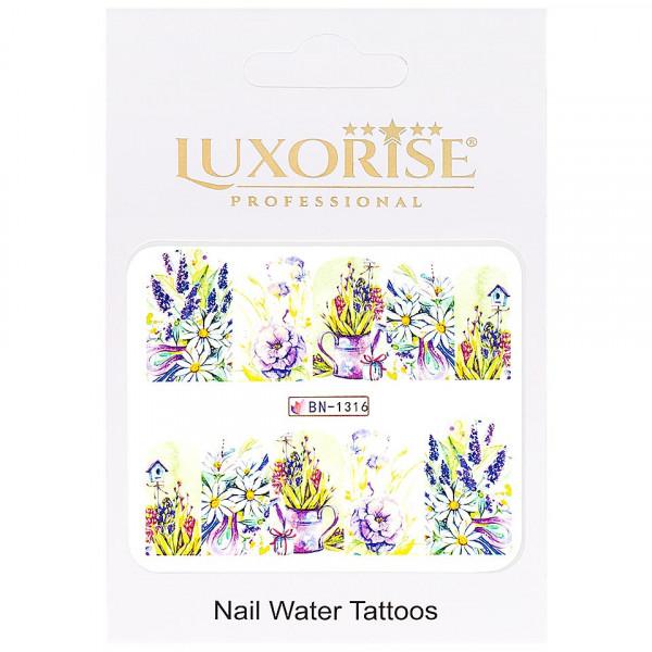 Poze Tatuaj unghii LUXORISE, Nature BN-1316