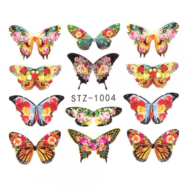 Poze Tatuaj unghii SensoPRO Summer Challenge, model STZ-1004