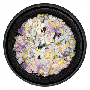 Decoratiuni Unghii Nail Art LUXORISE, Butterfly Sunrise