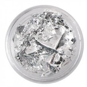 Foita Creponata Unghii Fraulein38, argintie