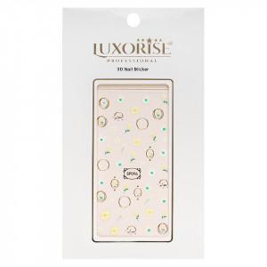 Folie Sticker 3D unghii LUXORISE- SP096
