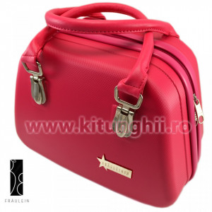 Geanta Produse Cosmetice Fraulein38 - Pink Beauty Case