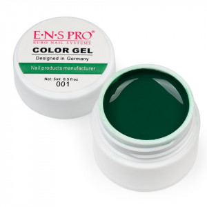 Gel UV Color ENS PRO #001 - Dark Green