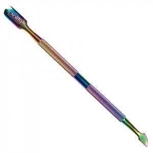 Instrument de Cuticule cu 2 Capete, Rainbow #04