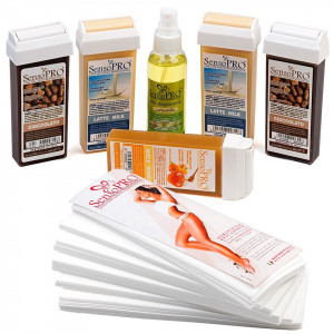 Kit Epilare Ceara Consumabile SensoPRO Italia Chocolate Touch