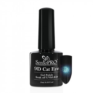 Oja Semipermanenta 9D Cat Eye #12 Scenti - SensoPRO 10 ml