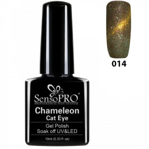 Oja Semipermanenta Cameleon Cat Eye SensoPro 10ml - #014 Fairy Night