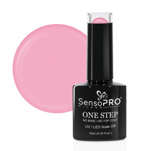 Oja Semipermanenta SensoPRO Milano One Step 10ml, Pink Rose #053