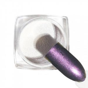 Pigment unghii Chrome #134 cu aplicator - LUXORISE