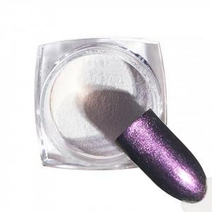 Pigment unghii Chrome #44 cu aplicator - LUXORISE