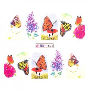 Tatuaj unghii LUXORISE, Butterfly BN-1537