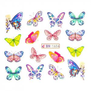 Tatuaj unghii LUXORISE, Butterfly BN-1656