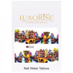Tatuaj unghii LUXORISE, City A1026