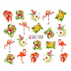 Tatuaj unghii LUXORISE, Flamingo BN-1306