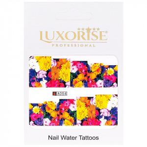 Tatuaj unghii LUXORISE, Nature A054