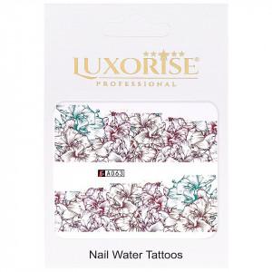 Tatuaj unghii LUXORISE, Nature A063