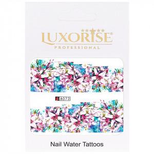 Tatuaj unghii LUXORISE, Nature A072