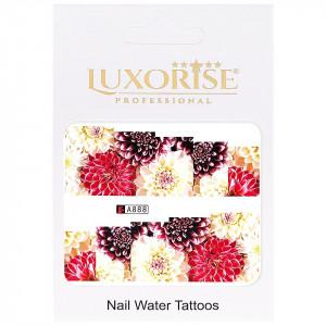 Tatuaj unghii LUXORISE, Nature A888
