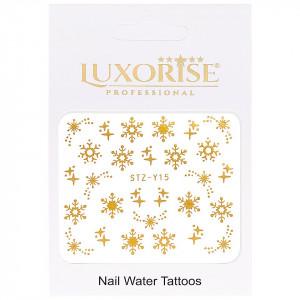 Tatuaj unghii LUXORISE, Winter STZ-Y15