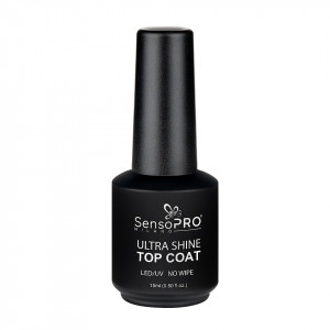 Ultra Shine Top Coat SensoPRO Milano, 15ml
