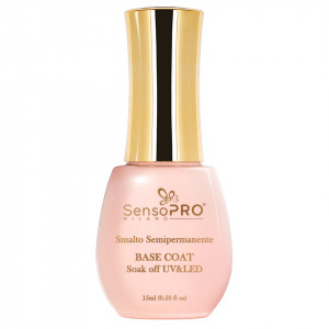 Base Coat Oja Semipermanenta SensoPRO Italia 15ml - Gel de Baza