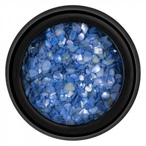Decor Unghii tip Scoica Pisata LUXORISE - Dreamy Blue