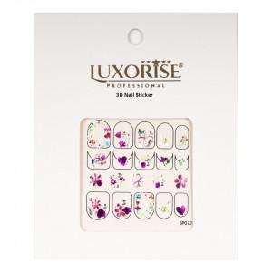 Folie Sticker 3D unghii LUXORISE- SP073